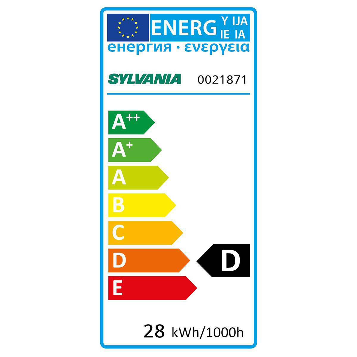 Halogen-Lampe E14 Linear 28 W 370 lm 2800 K