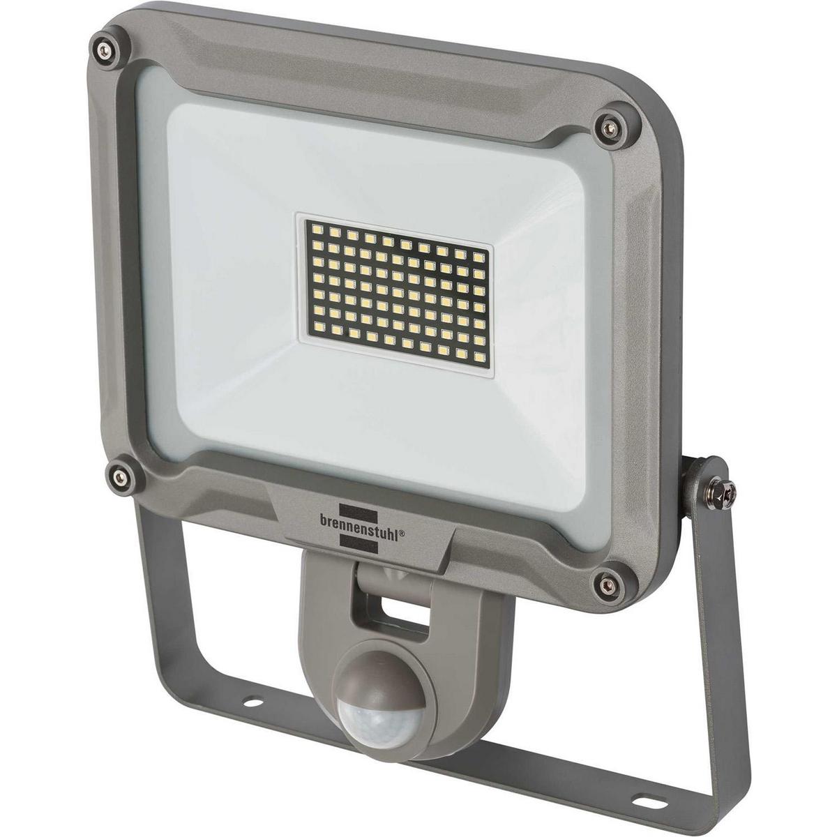 LED-Scheinwerfer mit Sensor 50 W 4770 lm Grau