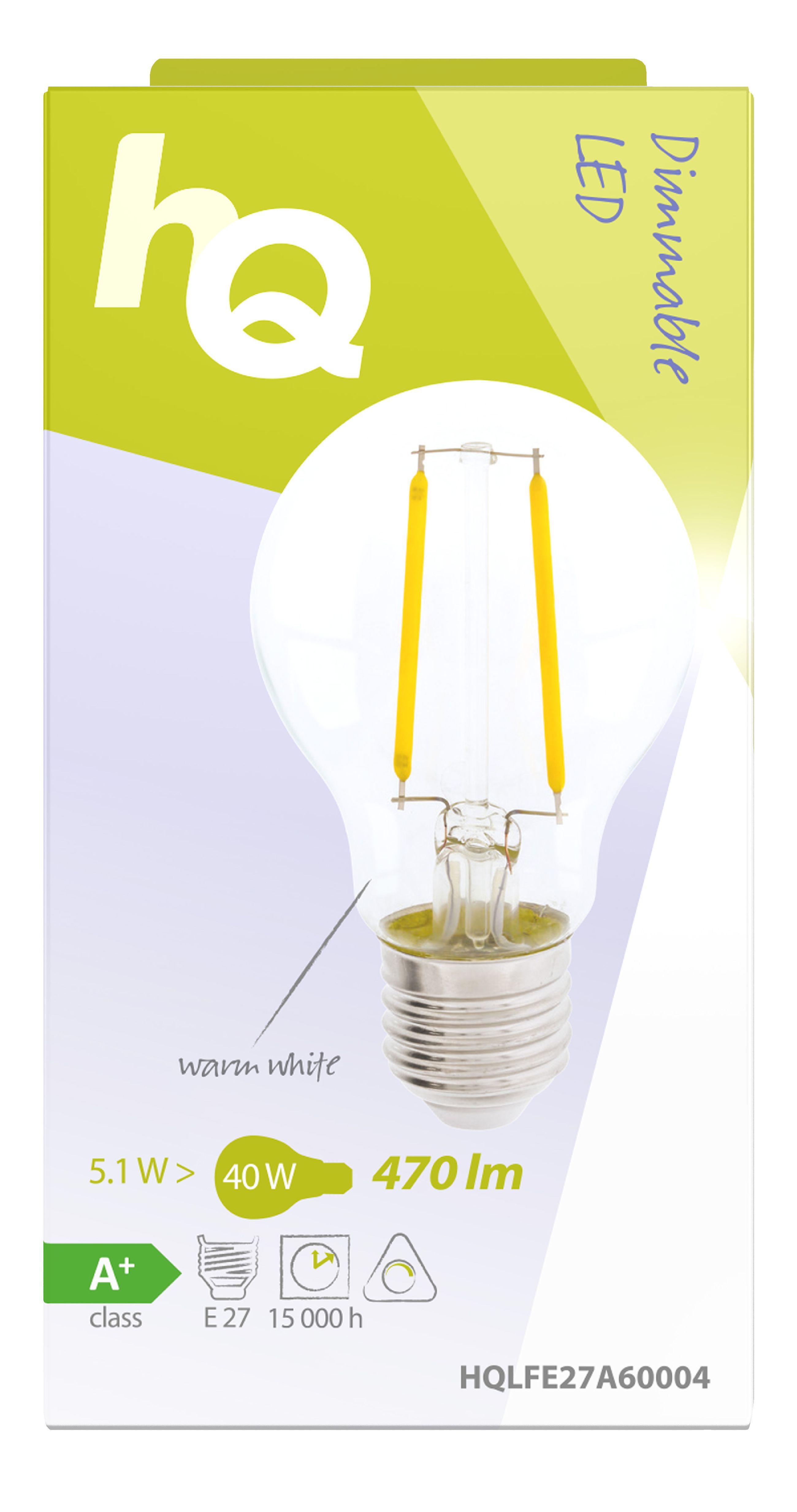 Glühlampe LED Vintage Dimmbar A60 5.1 W 470 lm 2700 K
