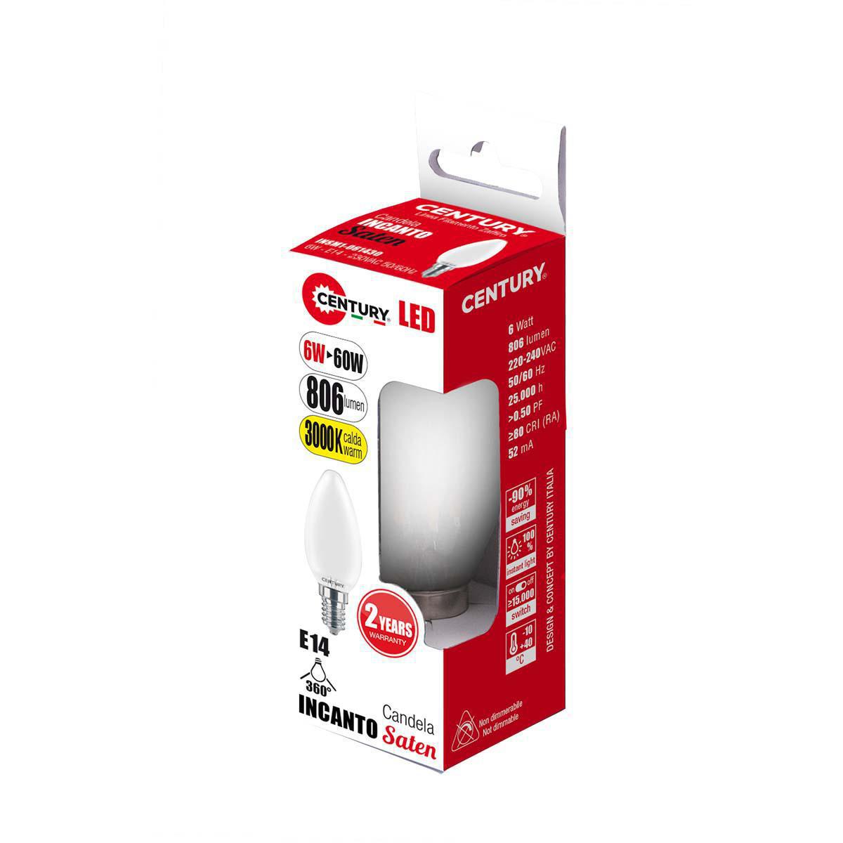 LED Vintage Filament Lampe Oliva E27 6 W 806 lm 2700 K