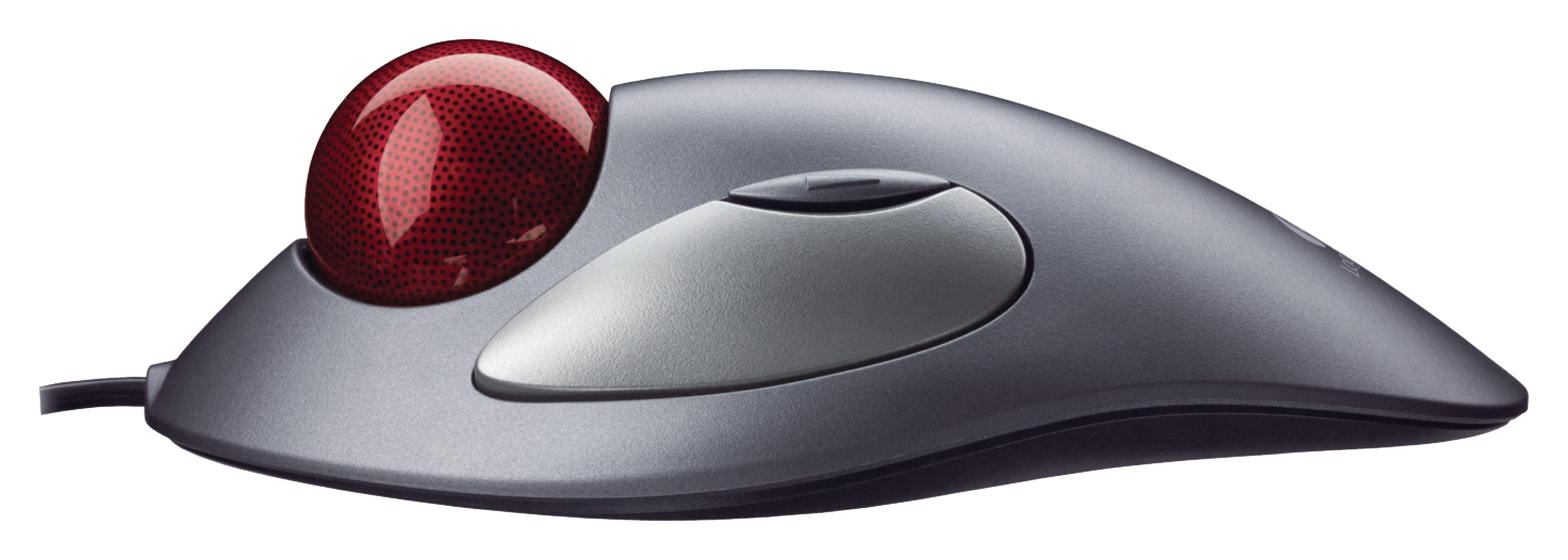 Maus mit Kabel Desktop 3 Tasten Schwarz