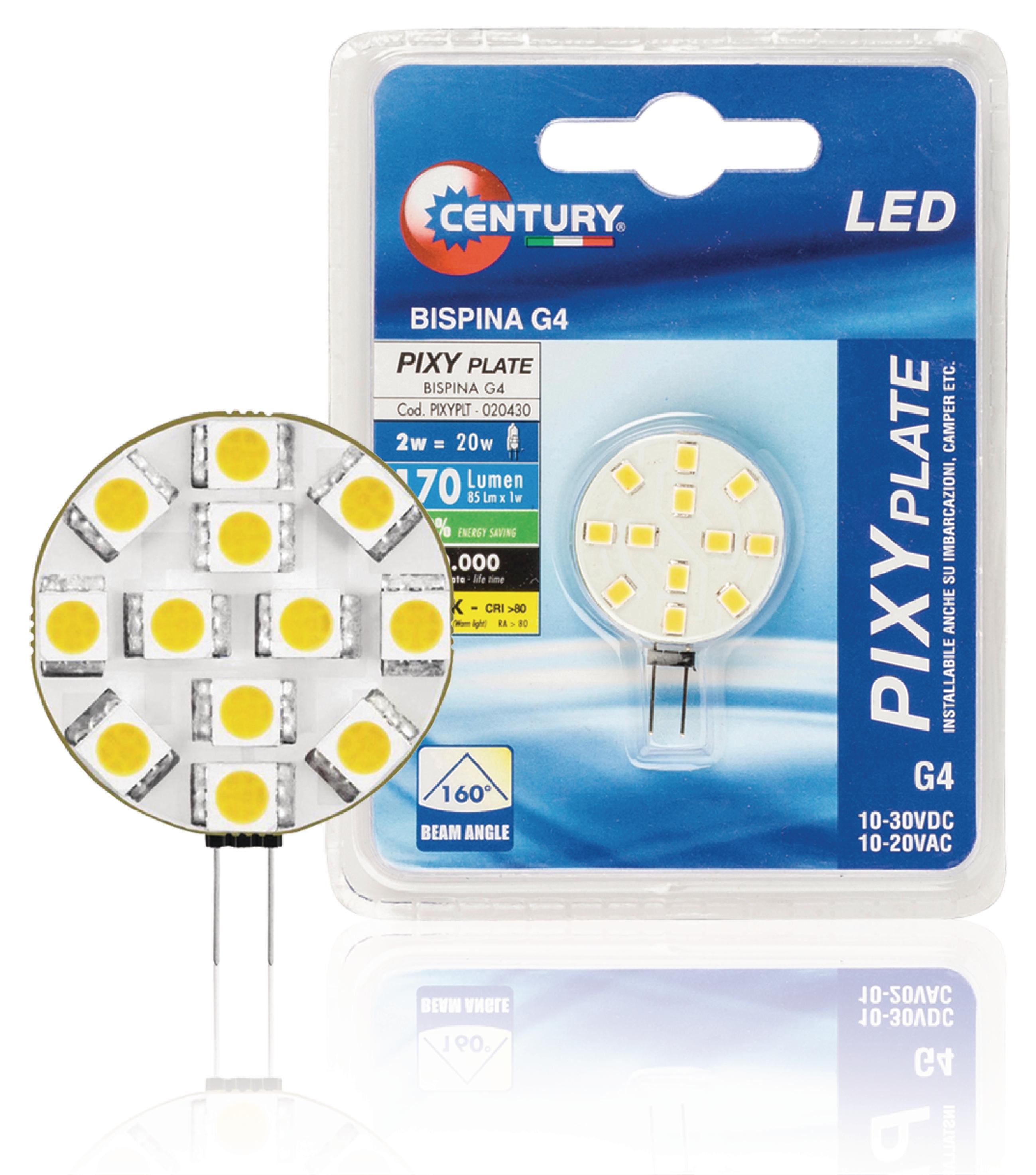 LED-Lampe G4 Kapsel 2 W 170 lm 3000 K