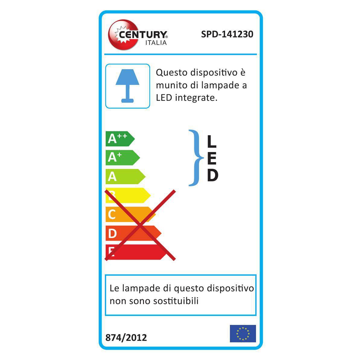 LED-Lampe 14 W 1150 lm 3000 K