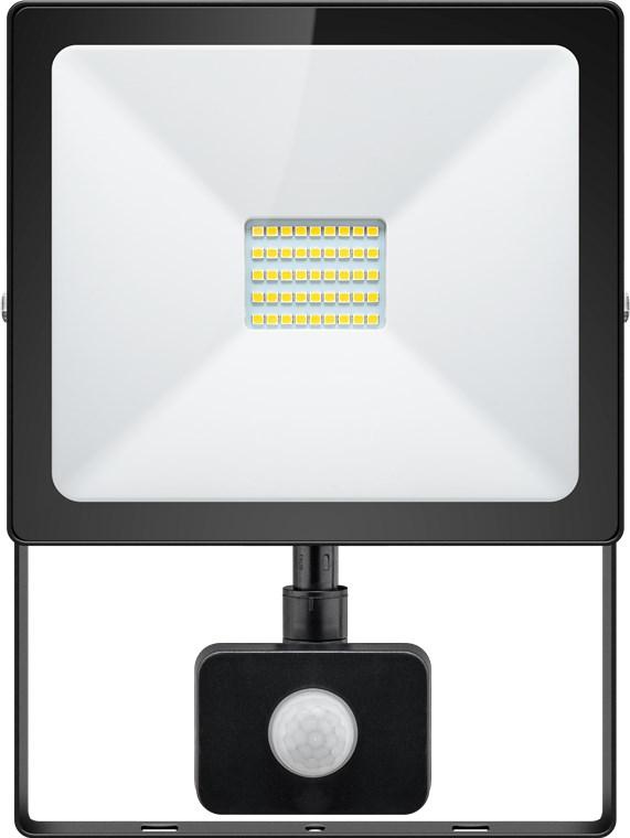 led-aussenstrahler-30-w-slim-classic-mit-bewegungsmelder-30-w-schwarz-015-m-lichtlosung-mit-pir-sens
